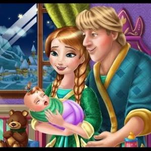 Play Anna Kristoff Baby Feeding games   GoGy.games