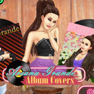 Ariana Grande Album Covers