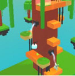 Blocky Rabbit Tower