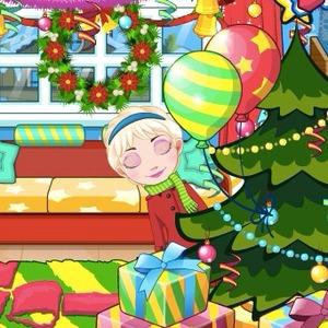 Elsa Baby Celebrate Christmas