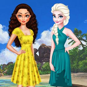 Land Vs Sea Elsa Vs Moana