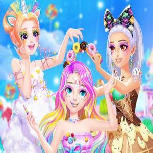 Princess Candy Makeup