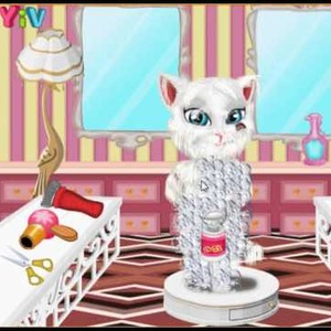 Talking Angela Shaving