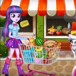 Twilight Sparkle Christmas Shopping