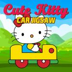 Cute Kitty Car Jigsaw