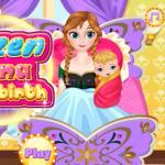Frozen Anna Baby Birth