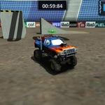 Monster Truck Arena Stunts