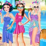 Princesses Summer Hawaii Fashion